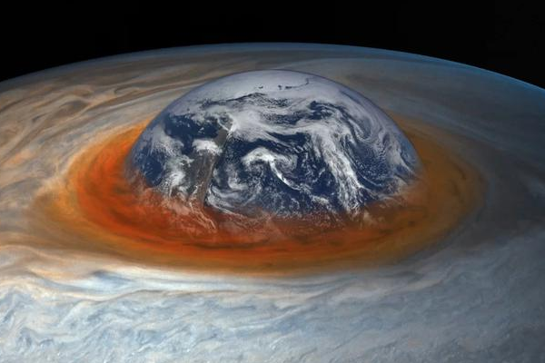 研究发现木星大红斑正在不断的变小,未来或将消失