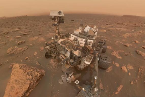 火星风暴后好奇号幸免于难重新开始