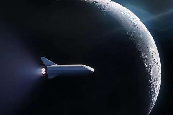 SpaceX签下第一位绕月客户