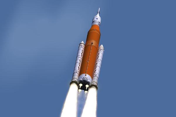 SLS火箭发射系统进展缓慢