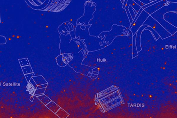 "NASA为新发现星系命名为""哥斯拉""""绿巨人""等"