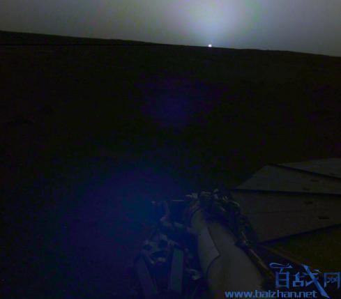 火星日出日落照片