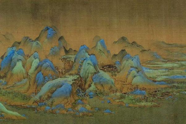王希孟千里江山图