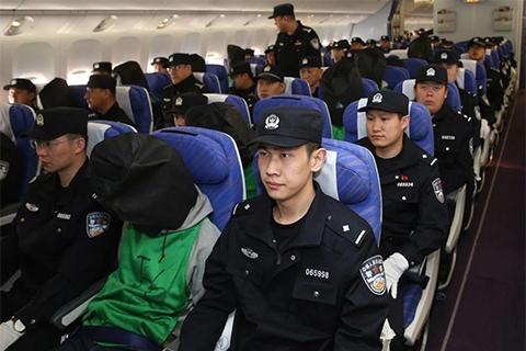 大批台诈骗犯在韩被捕
