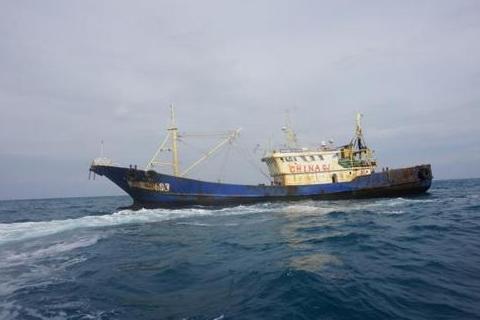韩国再次扣押中国渔船,理由竟然是使用特殊墨水