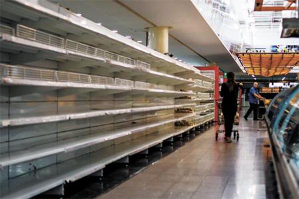 委内瑞拉经济危机,国家现状无法支付高额进口食品费用