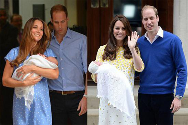 英国威廉夫妇将迎第3胎