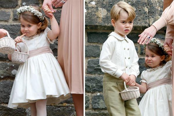 直击哈里王子大婚,两岁伴娘上线了解一下