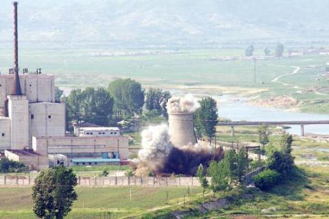 朝鲜接收韩方名单,采访核试验废弃仪式