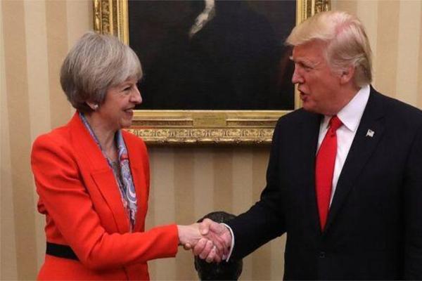 特朗普访英区别待遇