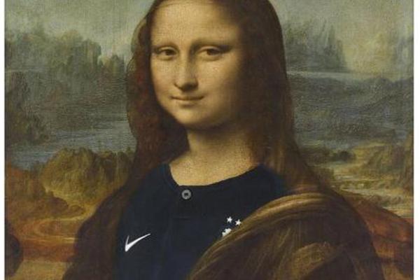 蒙娜丽莎穿法国球衣,别样方式庆祝法国夺冠
