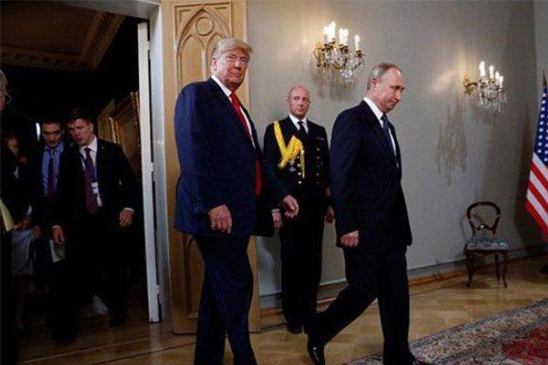 特朗普和普京一见面,特朗普:我们这次将无所不谈