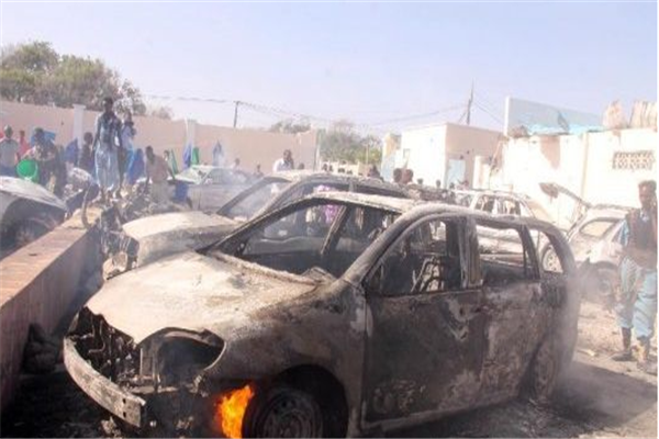 索马里发生袭击,汽车炸弹袭击,致3人死亡,多人受伤