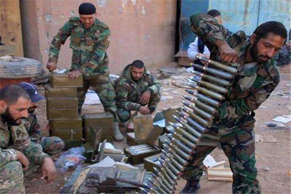 叙利亚8万叛军投降