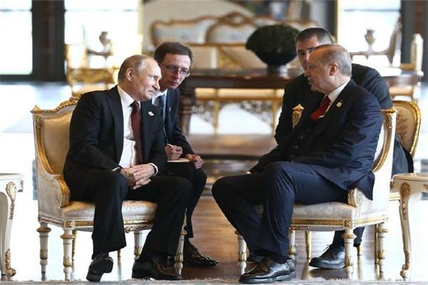 俄土伊三国峰会,声明保护叙利亚主权,共同根除恐怖势力