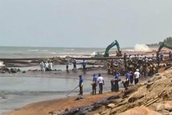 斯里兰卡燃油泄漏