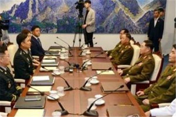 朝韩签署军事协议,朝韩举行第40次军事工作会谈