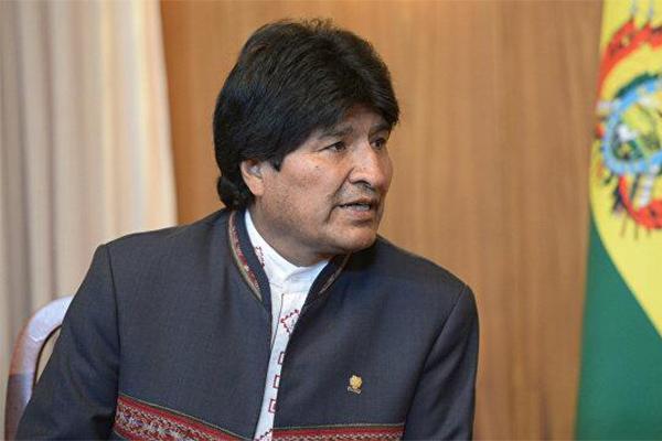 玻利维亚总统批美国,客场直言不讳态度耿直