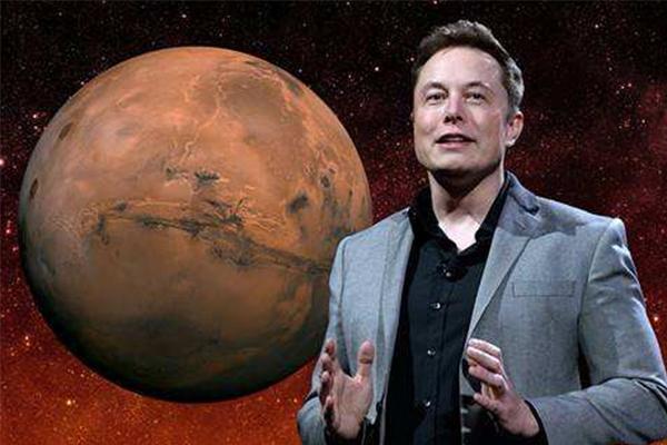 马斯克移居火星