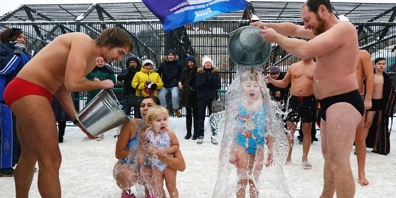 俄罗斯庆祝北极熊日