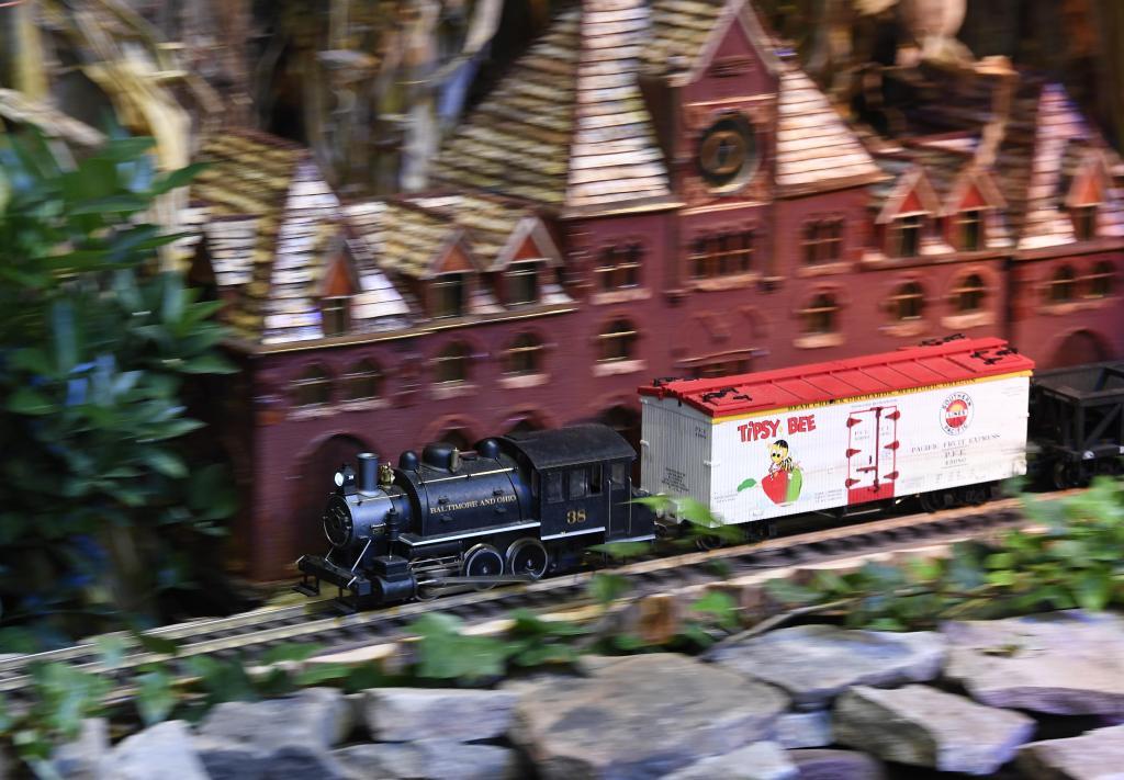 华盛顿迷你火车展览