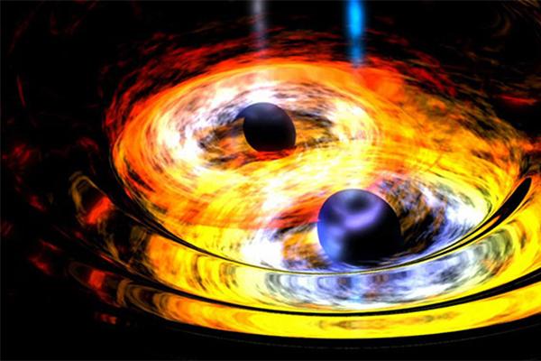 LIGO发现最大黑洞