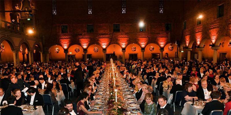 诺贝尔奖晚宴