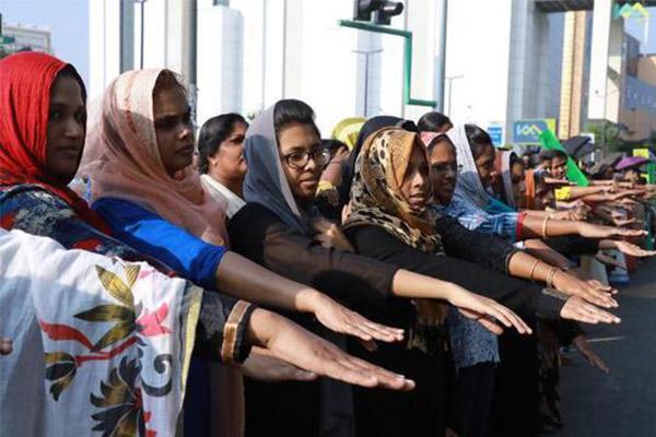 印数百万女性抗议,她们有着一个共同的诉求