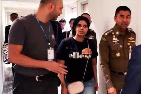 沙特18岁少女逃亡,引众多网民关注