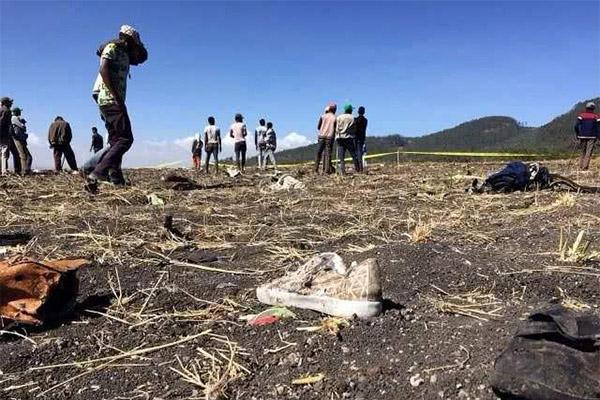 坠机现场所有遗物已挖出