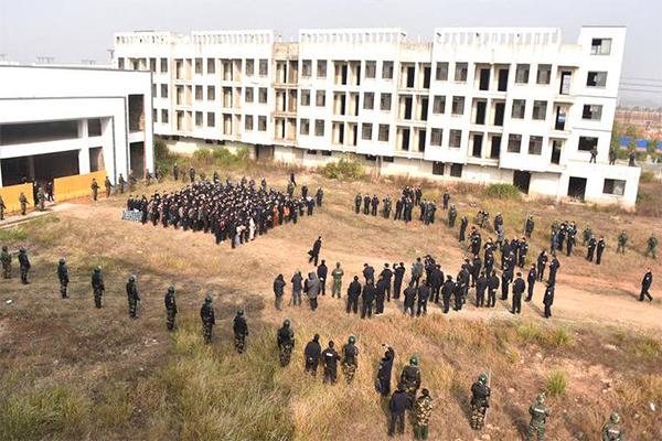 江西300警力抓获155人,特大诈骗团伙组织被成功捣毁