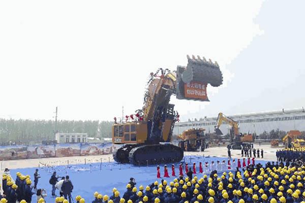中国挖掘机有多强,看了这个你可能会有所概念