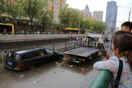 哈尔滨降暴雨