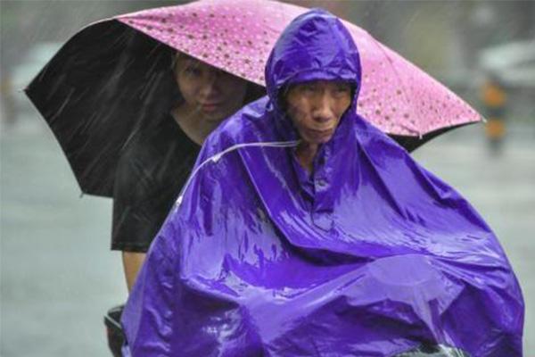 台风预警升黄