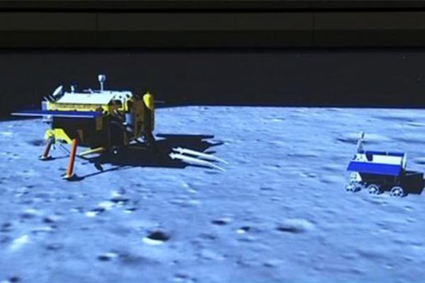 月球始位中国宾客