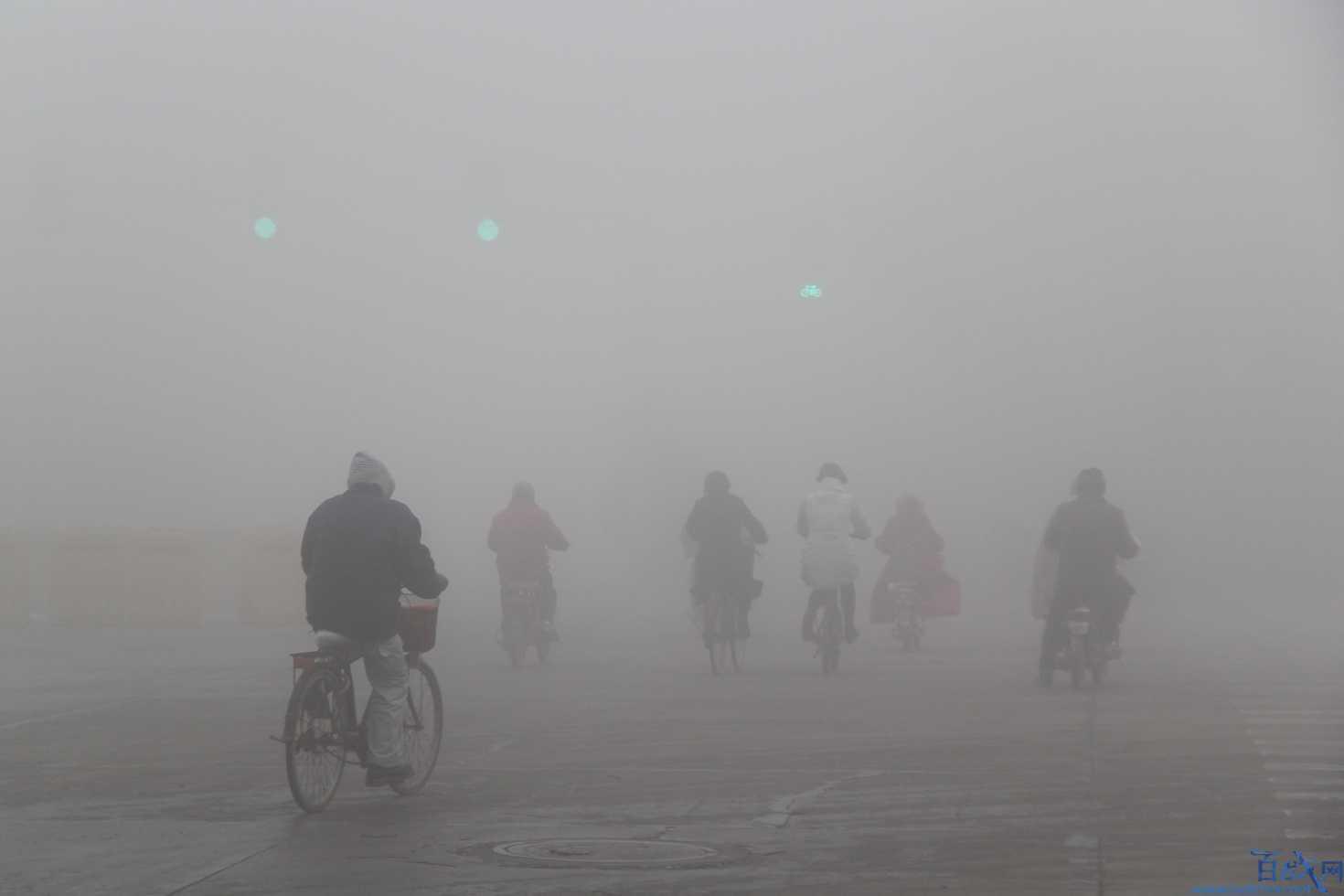 雾霾成因基本清亮