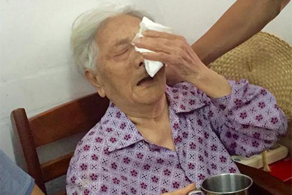 94岁老人控日暴行,勇敢站出来分享自己的经历