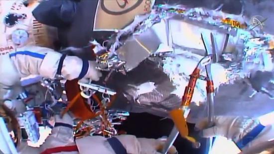 俄罗斯空间站出故障