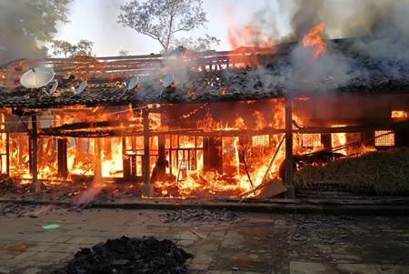 达州市大树镇-四川达州民房失火,一家6口不幸遇难