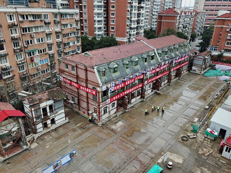 116岁老建筑平移