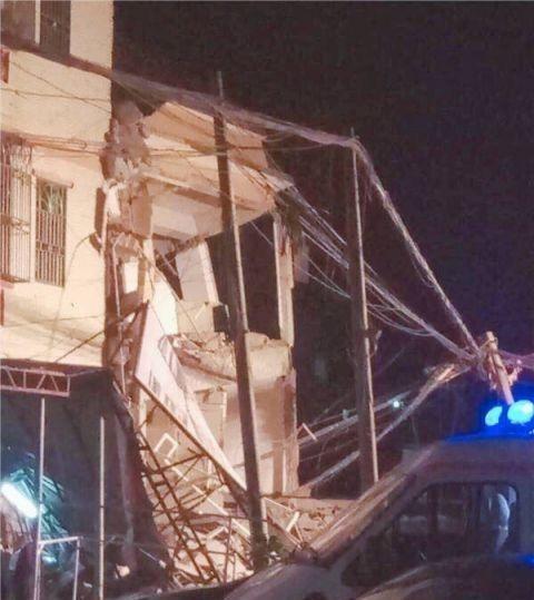 广州惠州楼房倒塌