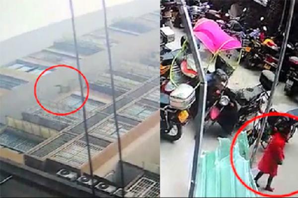 女童26楼坠落爬起,已送往医院进一步治疗