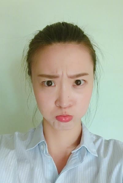 排球美女惠若琪晒搞怪8连拍