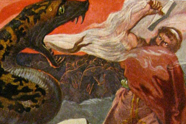 北欧神话中的巨蛇耶梦加得的传说由来