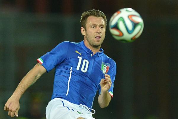 意大利国脚卡萨诺称到中国踢球是愚蠢