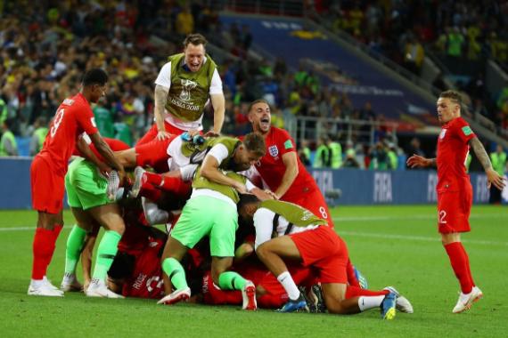 英格兰点球战首胜,创造历史打破魔咒