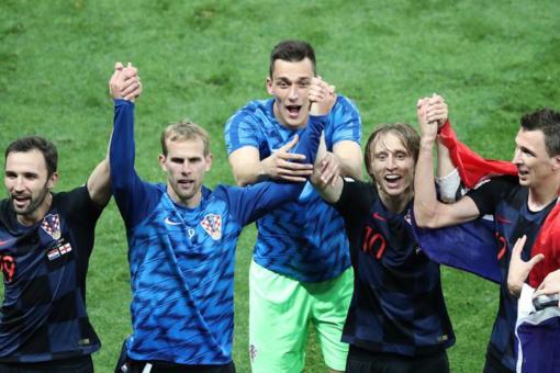 克罗地亚首进决赛