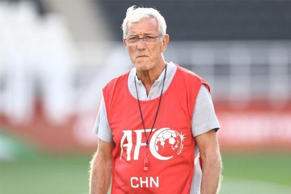 里皮卸任国足主教练,系中国队被零封成绩难看