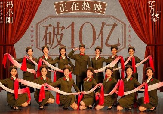 芳华成冯小刚最卖座电影!上映14天票房破十亿!