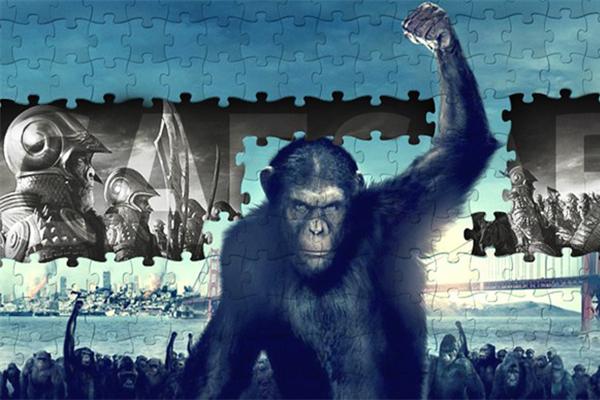 人猿星球系列,在科幻电影中一个另类的存在